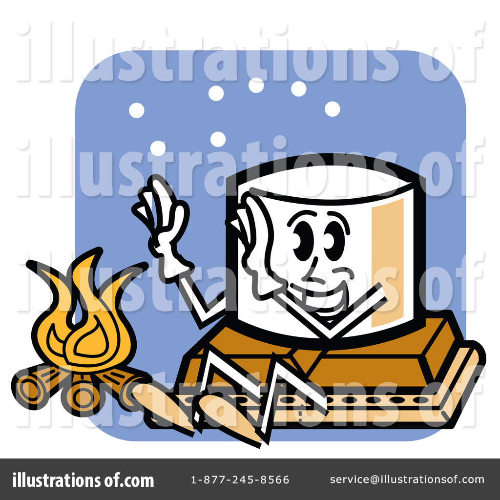 Smores Clipart #81733 - Illustration by Andy Nortnik