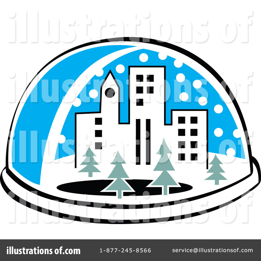 Snow Globe Clipart #100684 - Illustration by Andy Nortnik