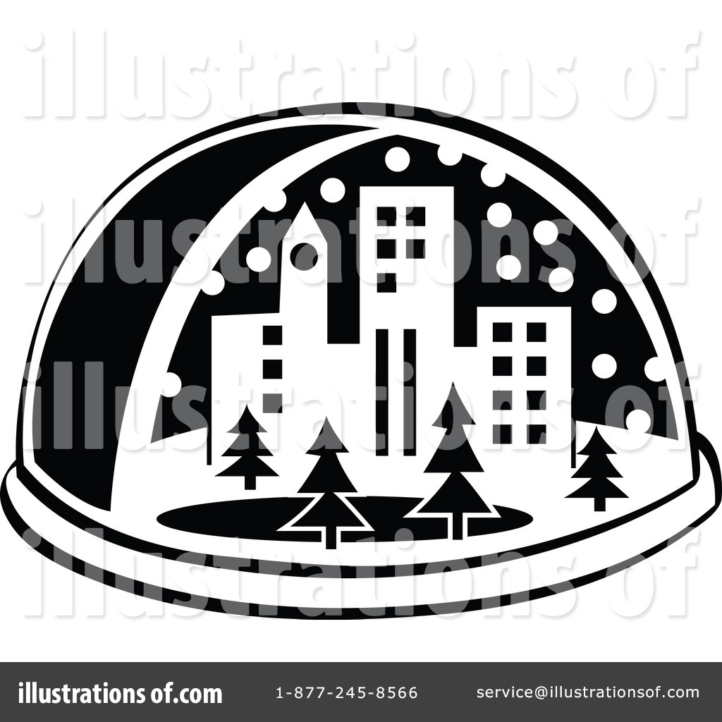 Snow Globe Clipart #100685 - Illustration by Andy Nortnik