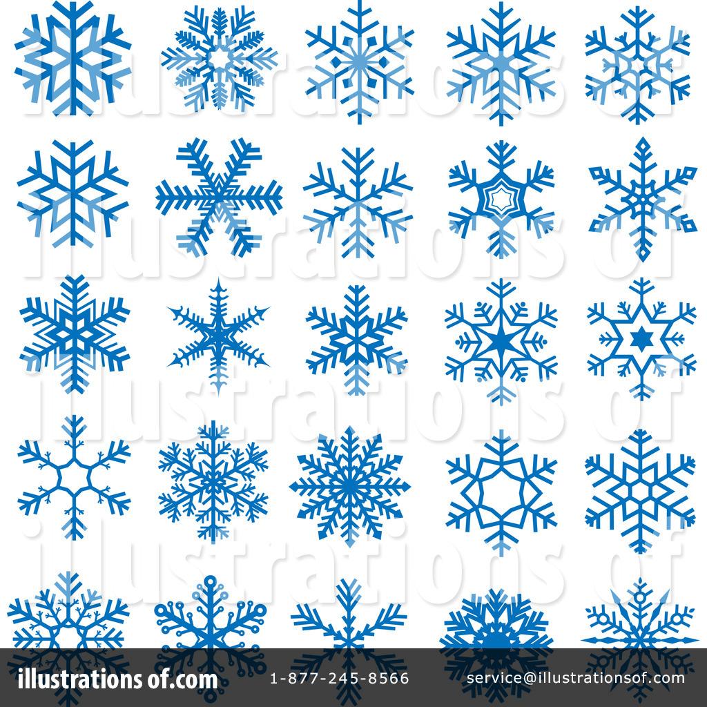 License Free Snowflake Clip Art