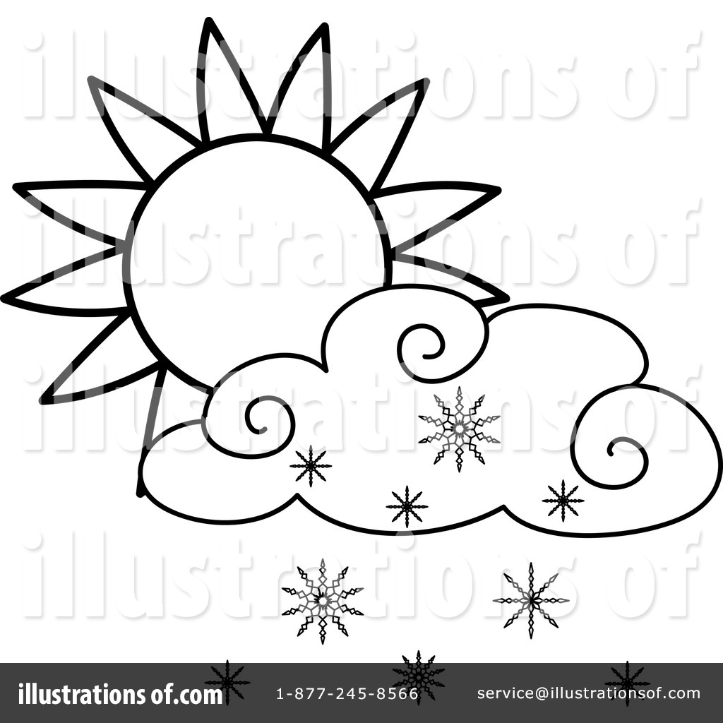 Snowing Clipart #433852 - Illustration by Pams Clipart