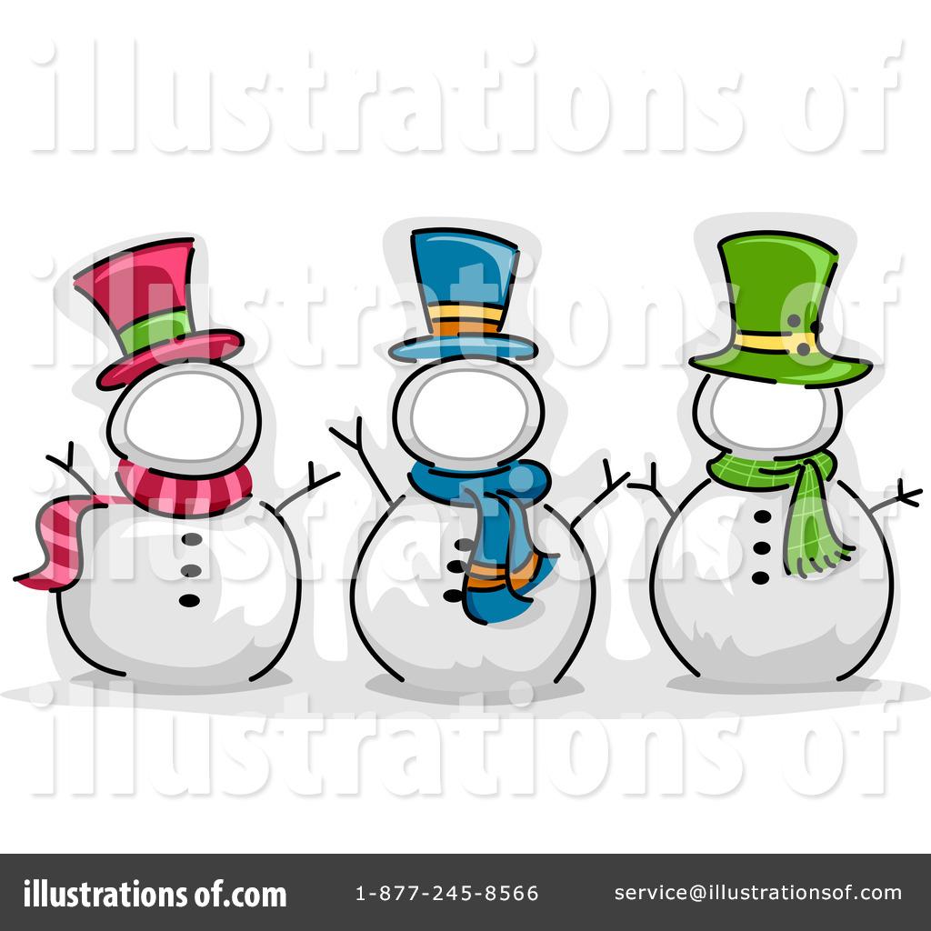 Snowman Clipart #1086887 - Illustration by BNP Design Studio