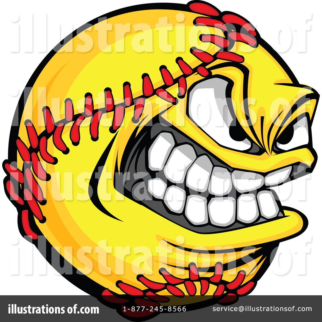softball clipart 1098211 illustration by chromaco rh illustrationsof com softball clipart free download softball clipart images