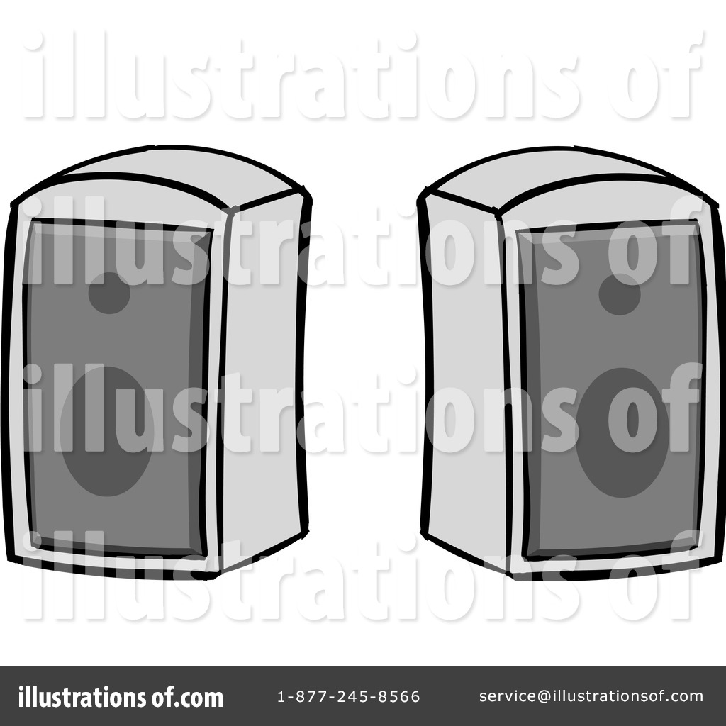 speakers clipart. royalty-free (rf) speakers clipart illustration #1106656 by cartoon solutions