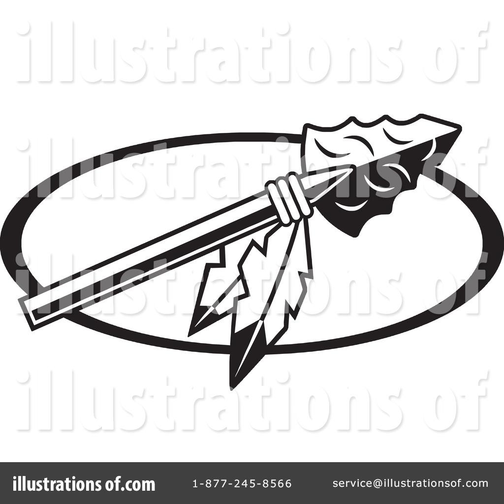 Spear Clipart #1194983 - Illustration by Johnny Sajem