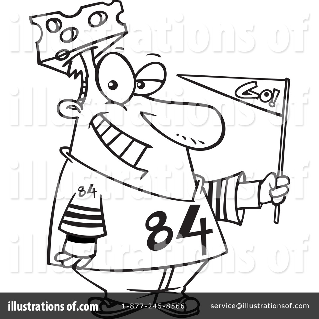 sports fan clipart 1047016 illustration by toonaday