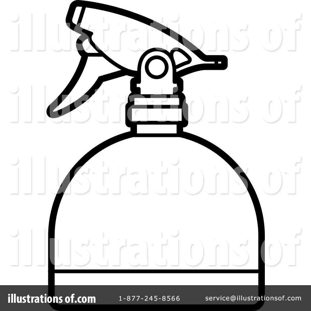 spray bottle clipart 1239046 illustration by lal perera rh illustrationsof com Cartoon Spray Bottle Spray Bottle Spraying