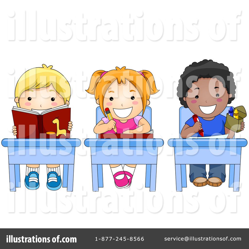 Students Clipart #215395 - Illustration by BNP Design Studio