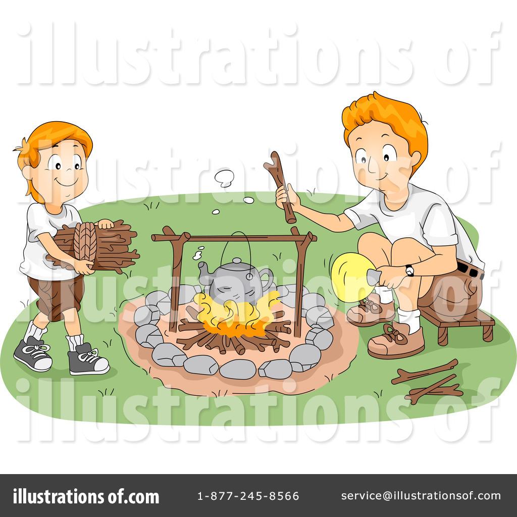 Summer Camp Clipart #1079115 - Illustration by BNP Design ...