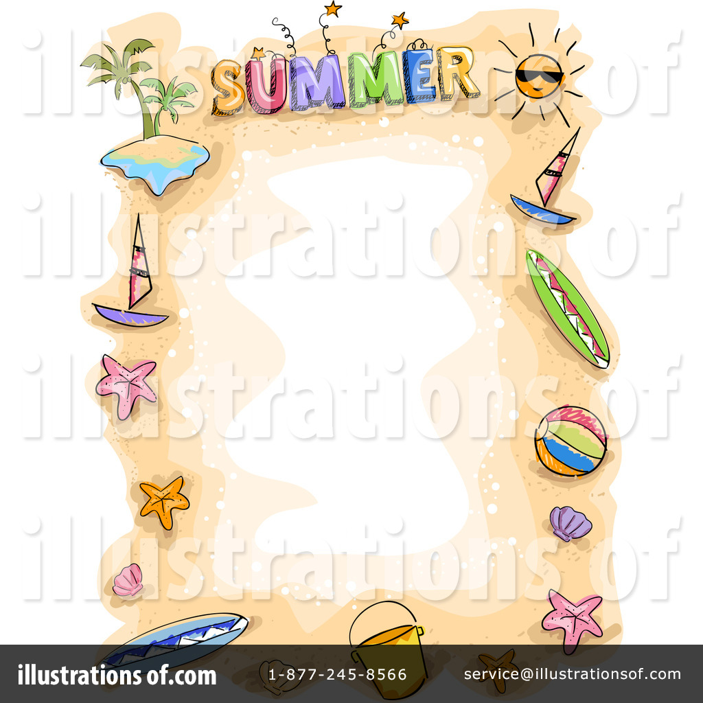 Summer Time Clipart 1066558 Illustration By Bnp Design Studio