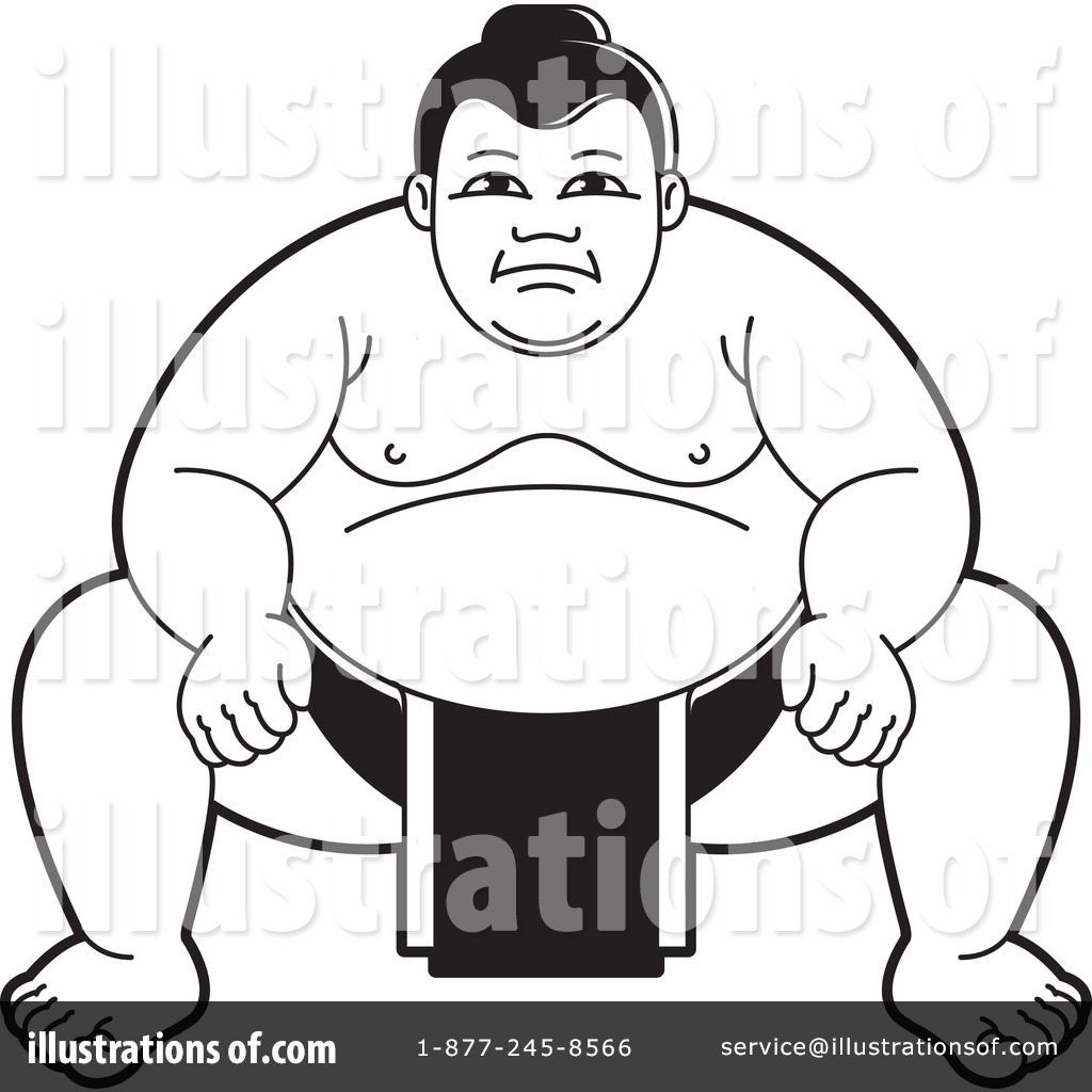 Sumo Wrestling Clip Art Player Transprent Png - Japanese Sumo Wrestler  Cartoon Transparent Png (#742279) - PinClipart