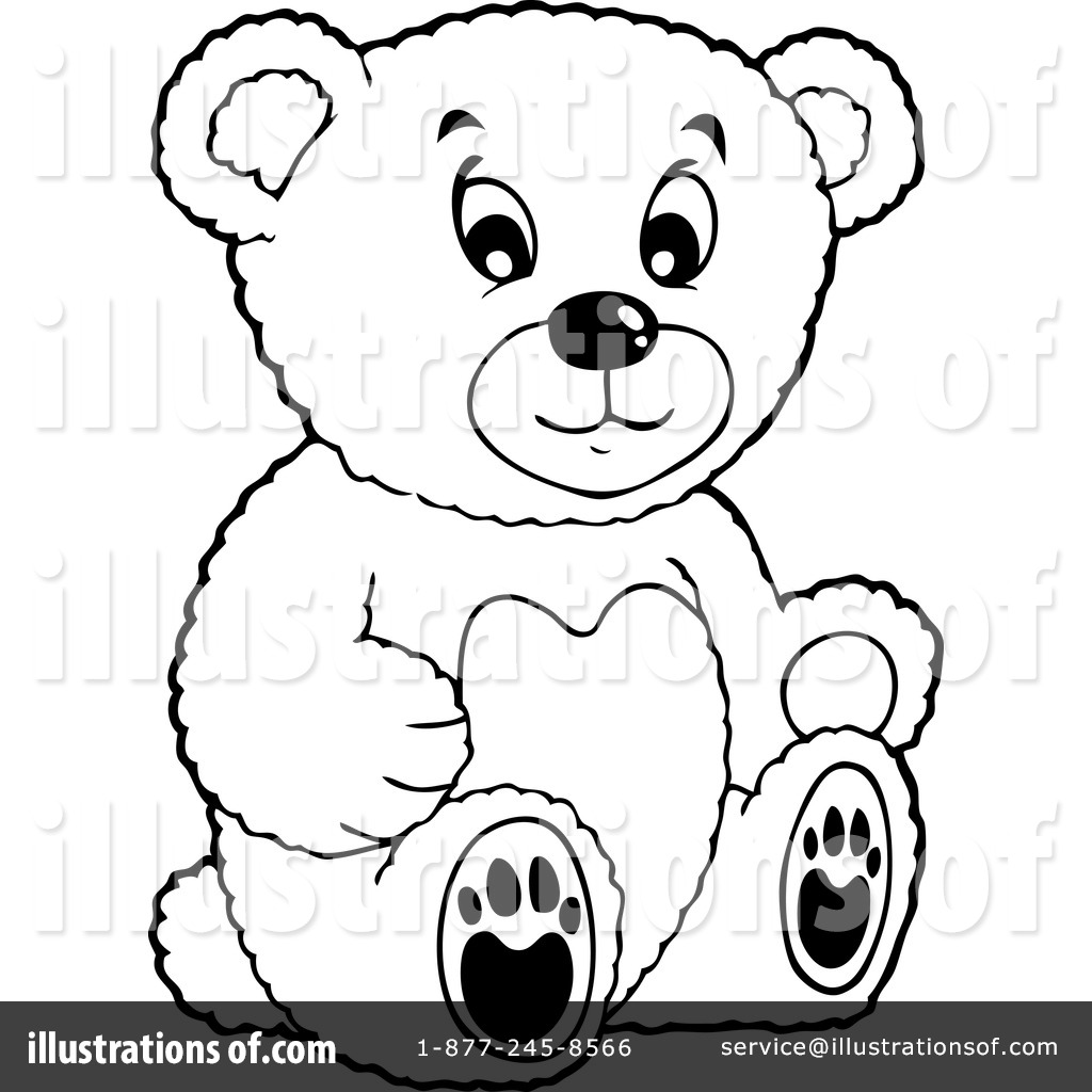 Teddy Bear Clipart #1127824 - Illustration by visekart