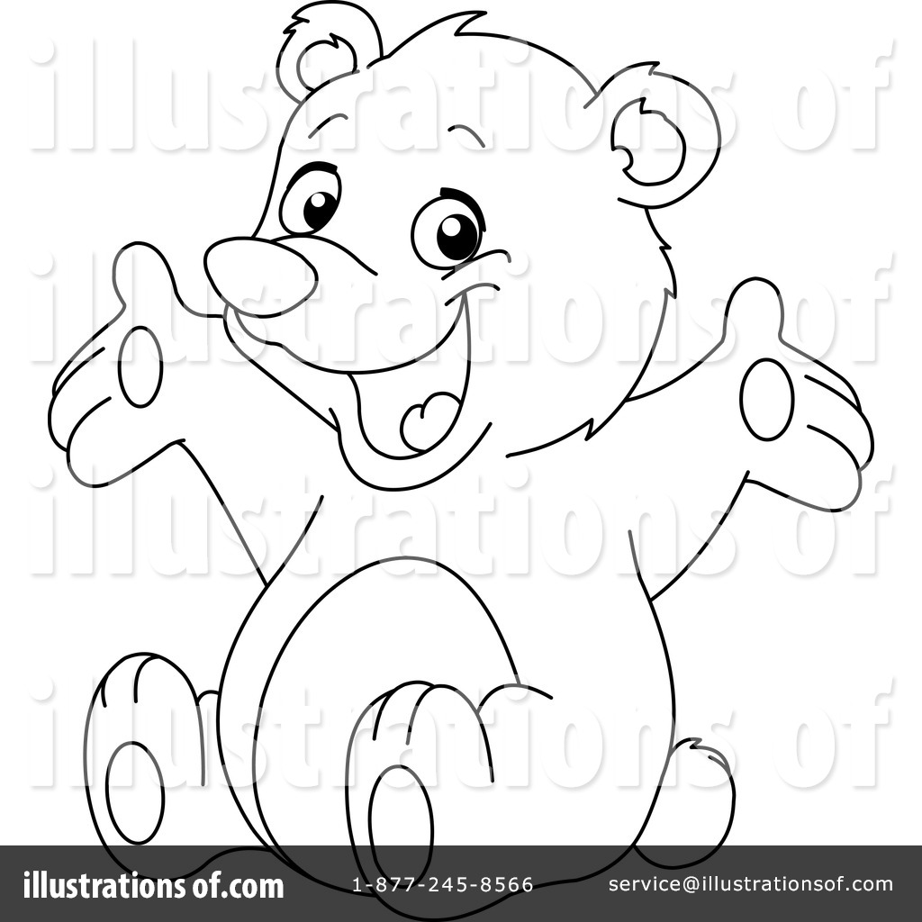 Teddy Bear Clipart #1147529 - Illustration by yayayoyo