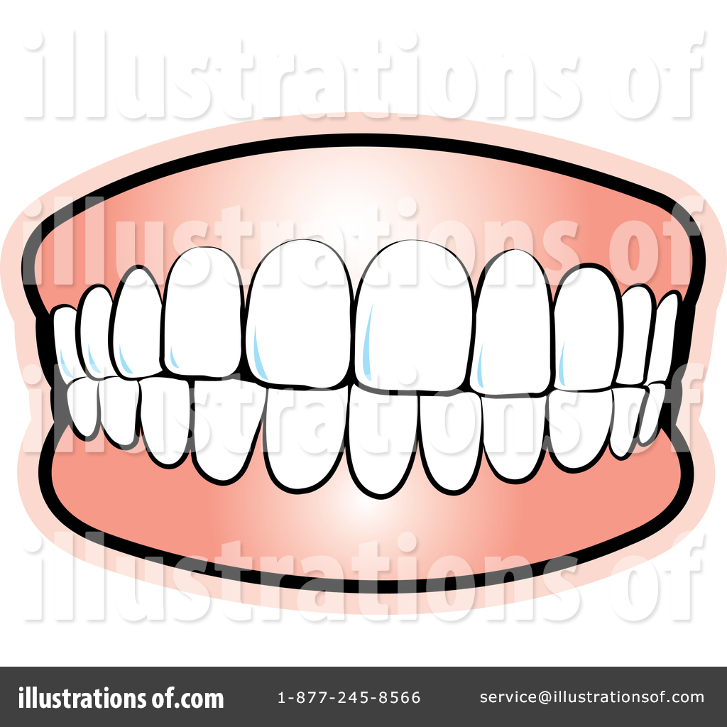 Teeth Clipart #1393056 - Illustration by Lal Perera