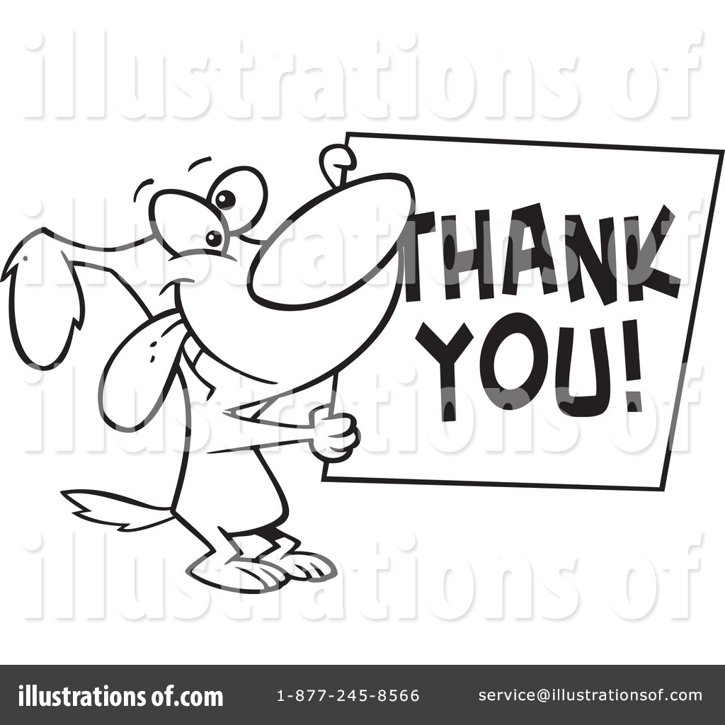thank you clipart 437763 illustration by toonaday