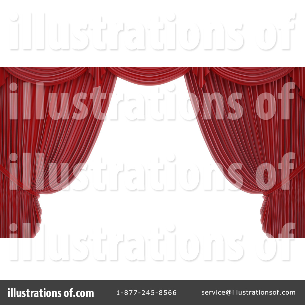 Real open stage curtains - Royalty Free Rf Theater Curtains Clipart Illustration 1096523 By Mopic