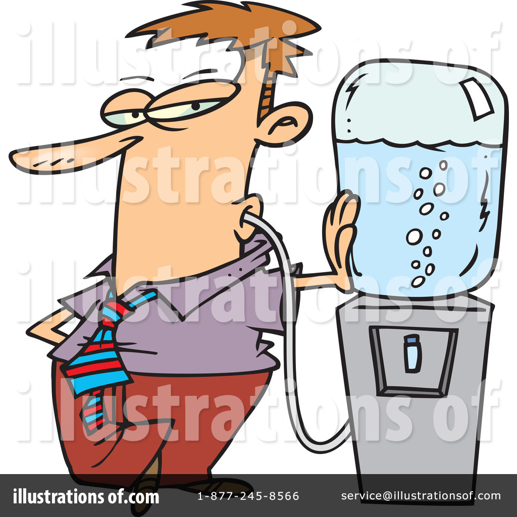 Water Cooler Clipart #66021 - Illustration by KJ Pargeter