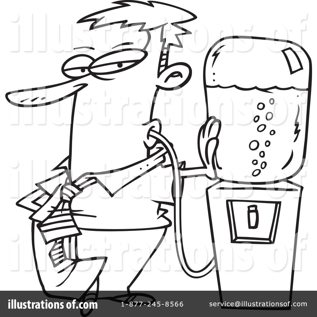 Thirsty Clipart 434571 Illustration By Toonaday