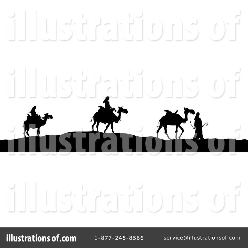 Three Wise Men Clipart #436264 - Illustration by Pams Clipart