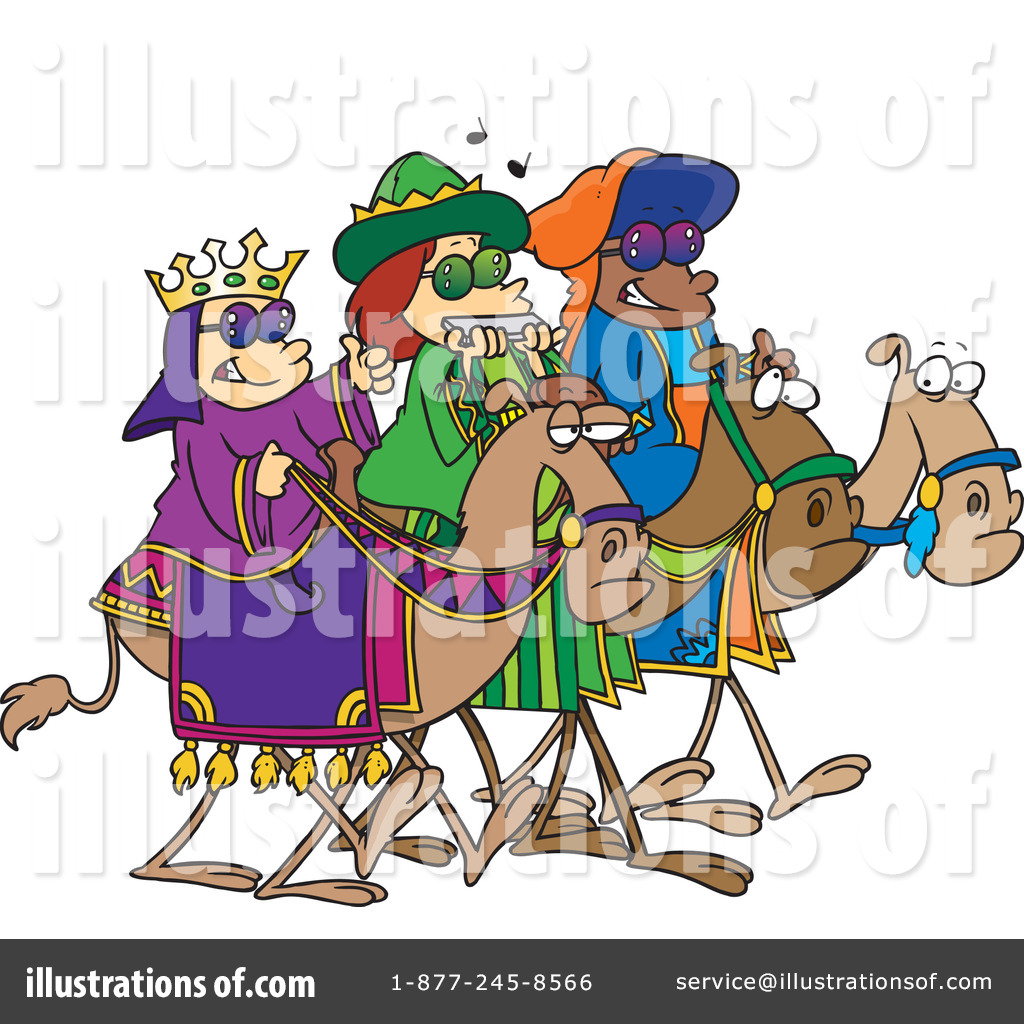 Three Wise Men Clipart #436765 - Illustration by Ron Leishman