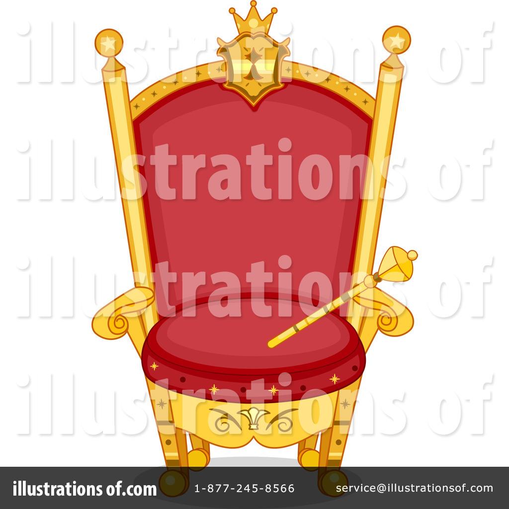 Throne Clipart #1195186 - Illustration by BNP Design Studio