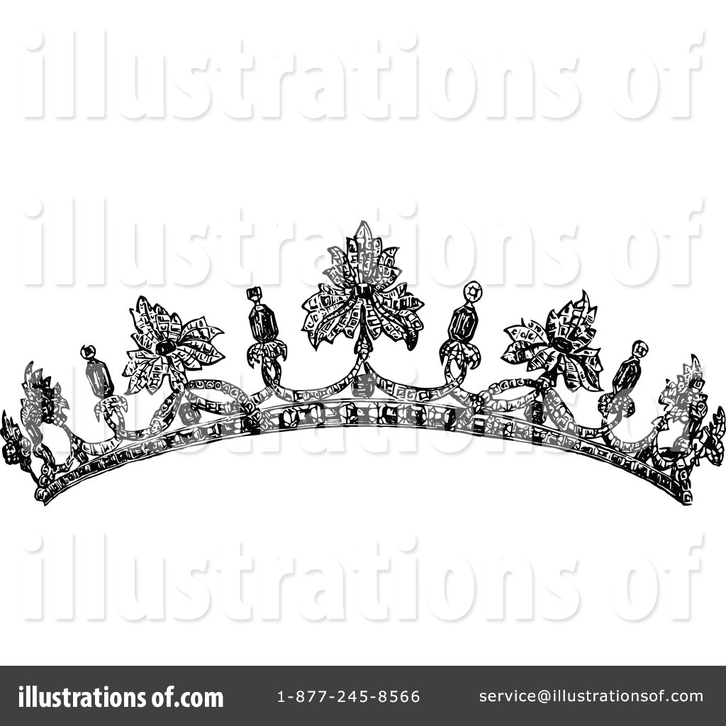 Tiara Clipart #1115188 - Illustration by Prawny Vintage