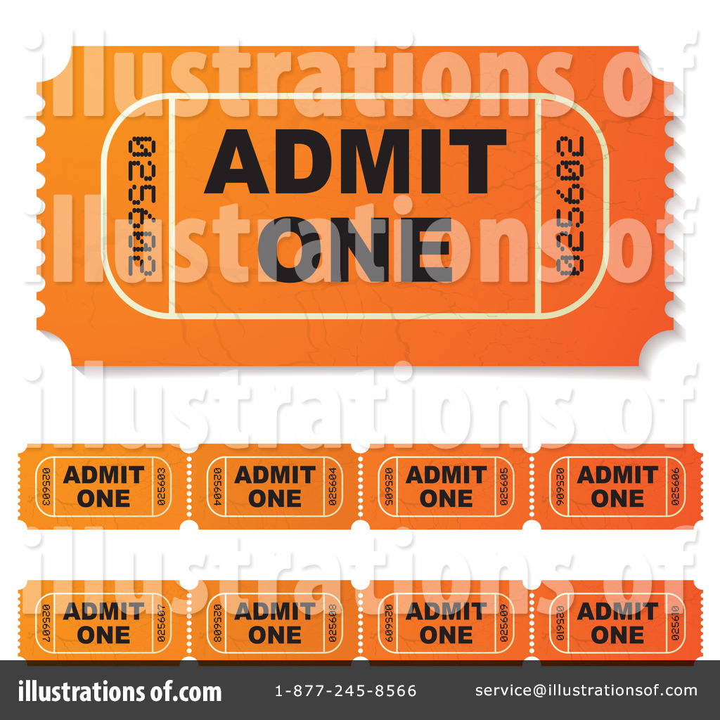 Free Ticket Maker. Ticket Stub Clipart 212468 Illustration By  Michaeltravers .  Free Event Ticket Maker