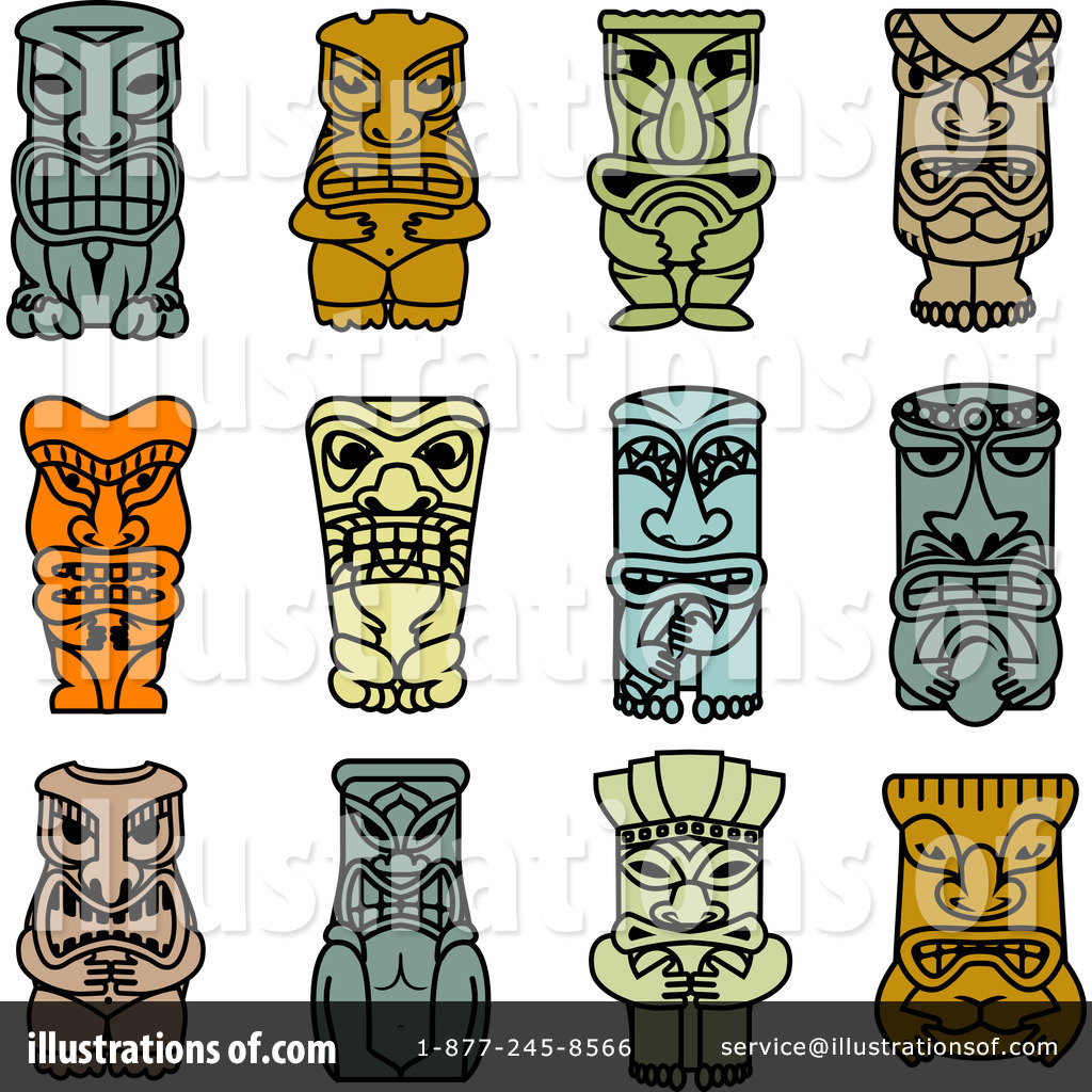 tiki clipart 1217414 illustration by vector tradition sm rh illustrationsof com free tiki clip art tiki torch clipart