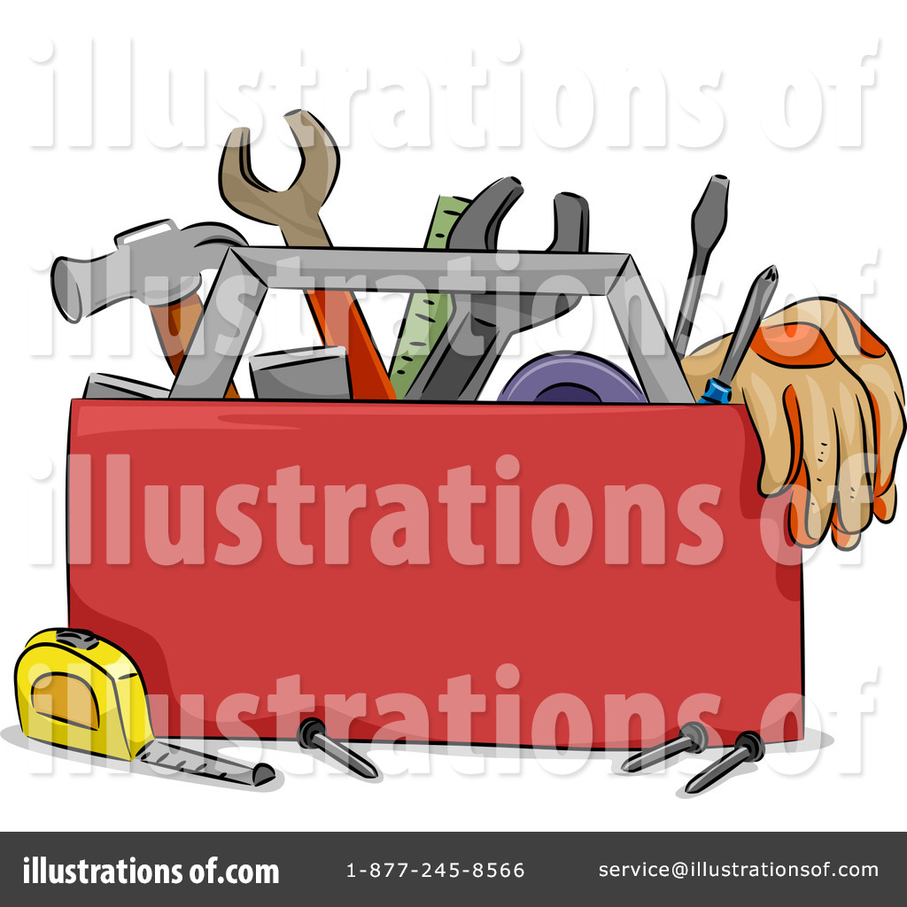 Tool Box Clipart #1145395 - Illustration by BNP Design Studio