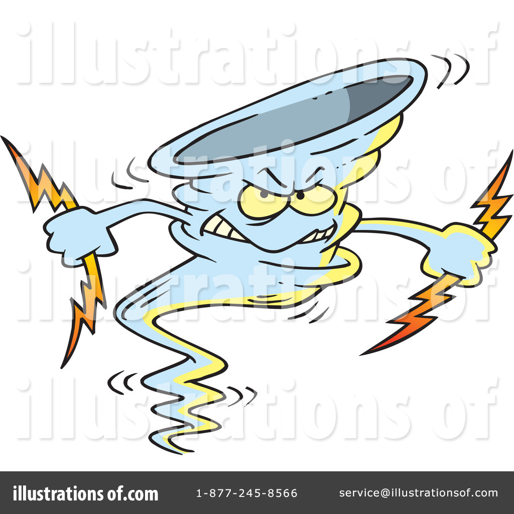 Tornado Clipart #437995 - Illustration by Ron Leishman