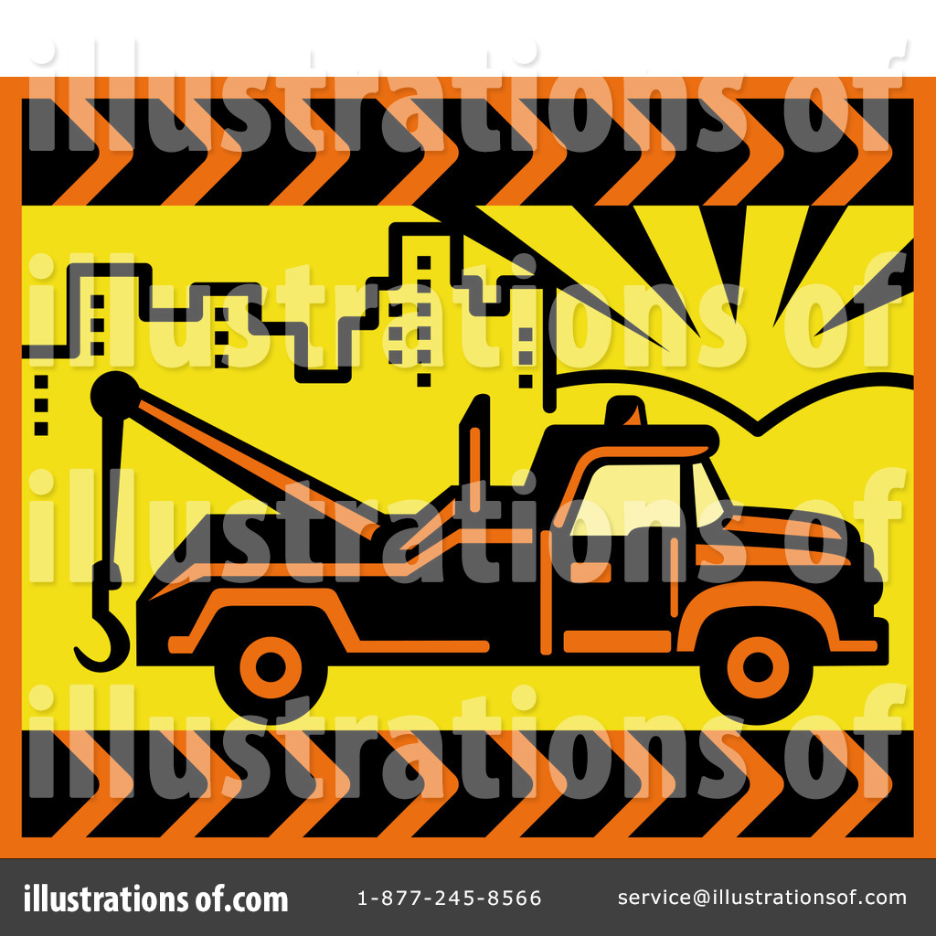 Tow Truck Clipart #216208 - Illustration by patrimonio