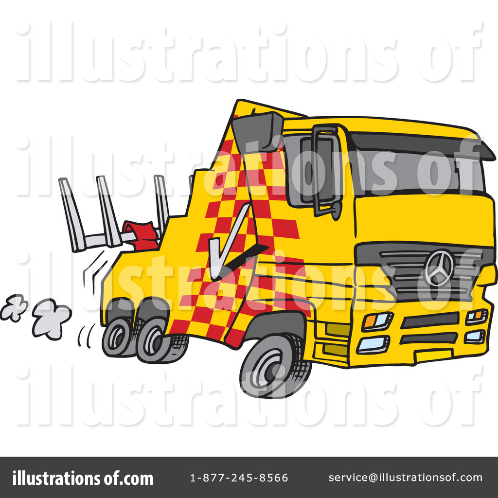 Tow Truck Clipart #437953 - Illustration by Ron Leishman