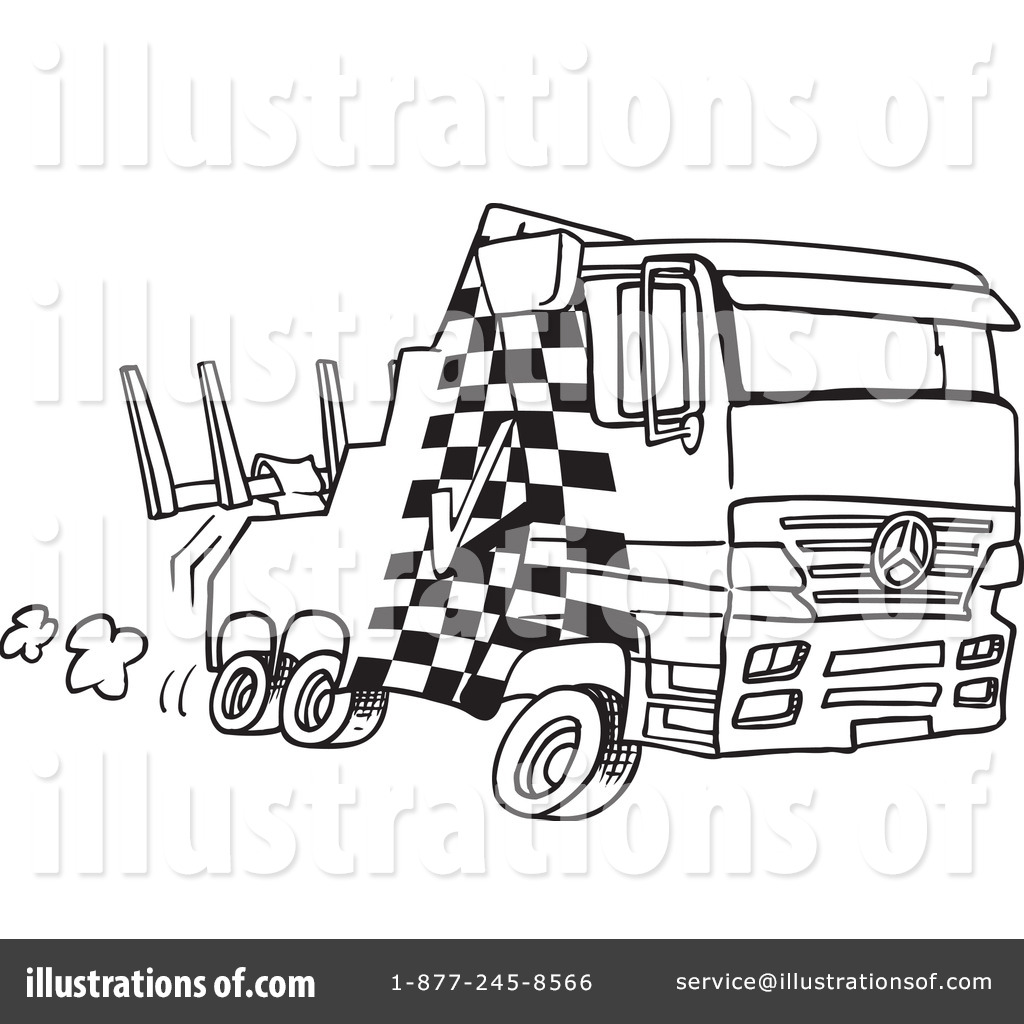 tow truck clipart 438017 illustration by toonaday
