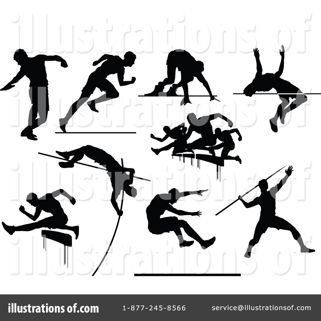 track and field clipart 1260586 illustration by chromaco rh illustrationsof com track and field pictures clip art vector clipart track and field