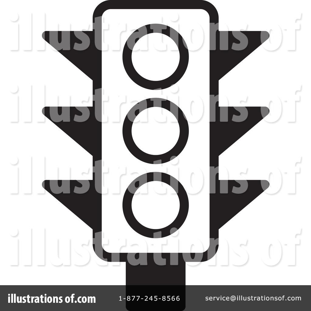 Traffic Light Clipart 1228853 Illustration By Lal Perera Stop Light Coloring Sheet