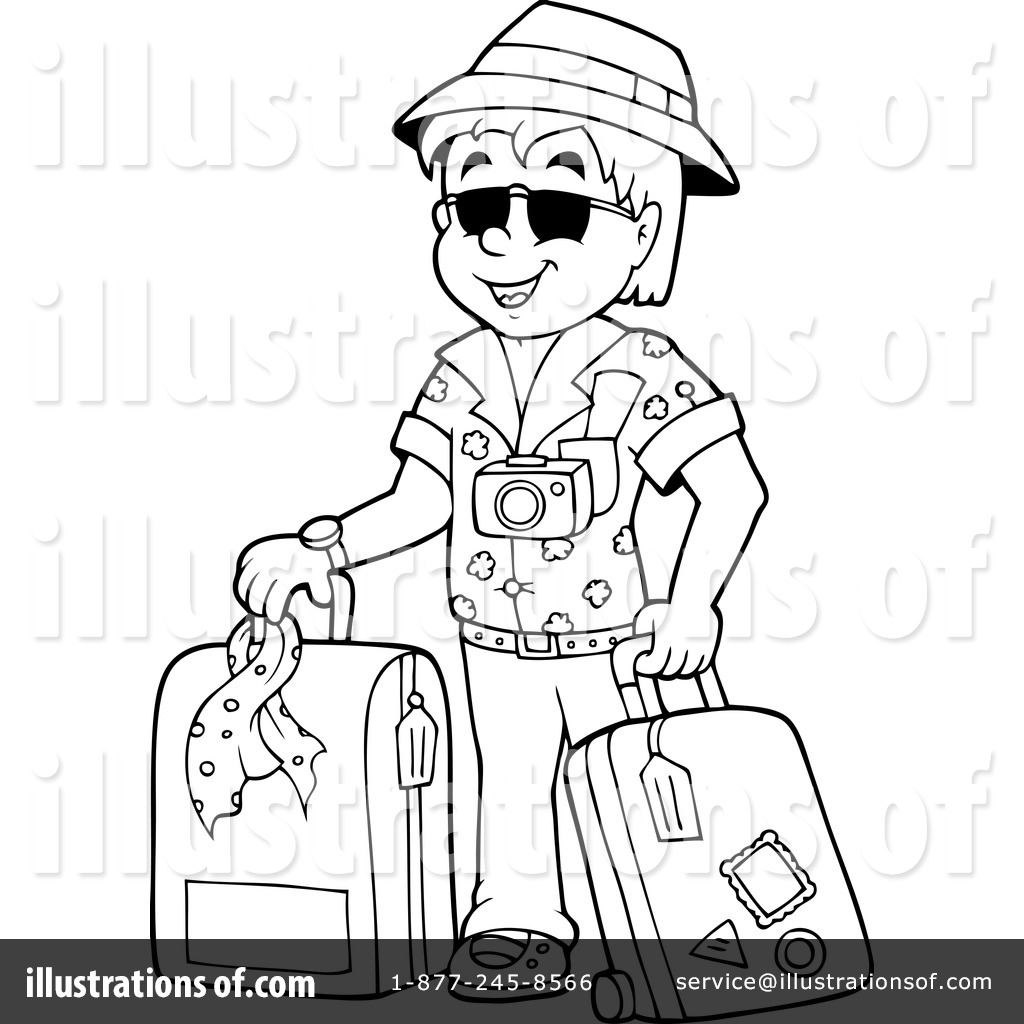 Royalty Free RF Travel Clipart Illustration 1253715 By Visekart