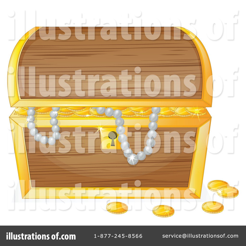 treasure chest clipart 1148715 illustration by graphics rf