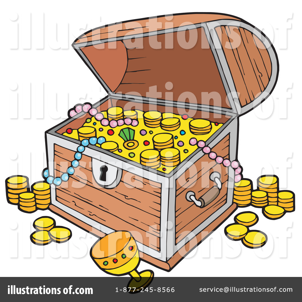 treasure chest clipart 213741 illustration by visekart rh illustrationsof com treasure chest clipart black and white free treasure chest clipart outline
