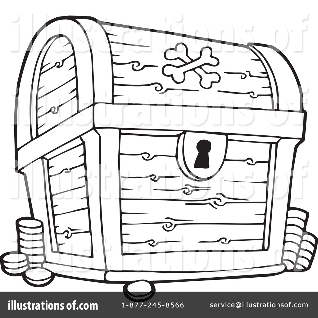 treasure chest clipart 231386 illustration by visekart