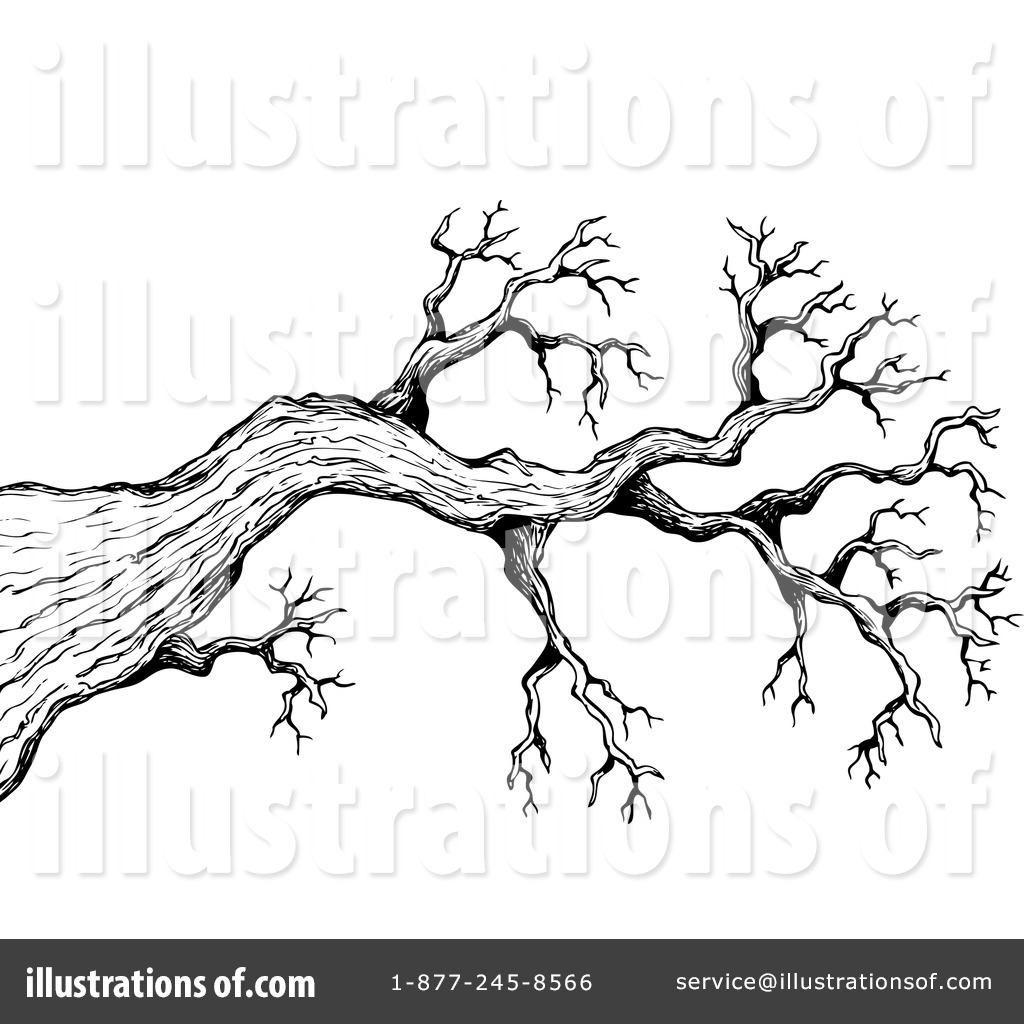 Tree Branch Clipart #1110719 - Illustration by visekart