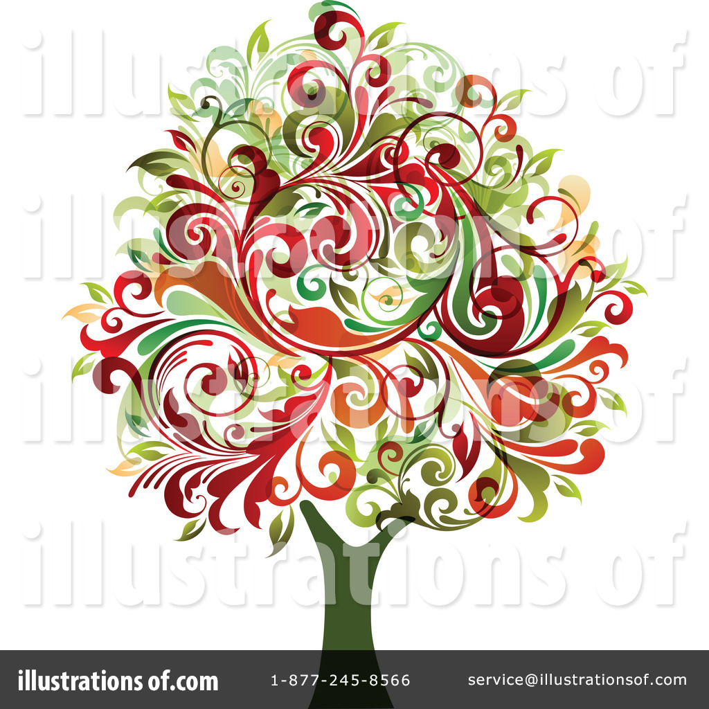 Tree Clipart #224201 - Illustration by OnFocusMedia