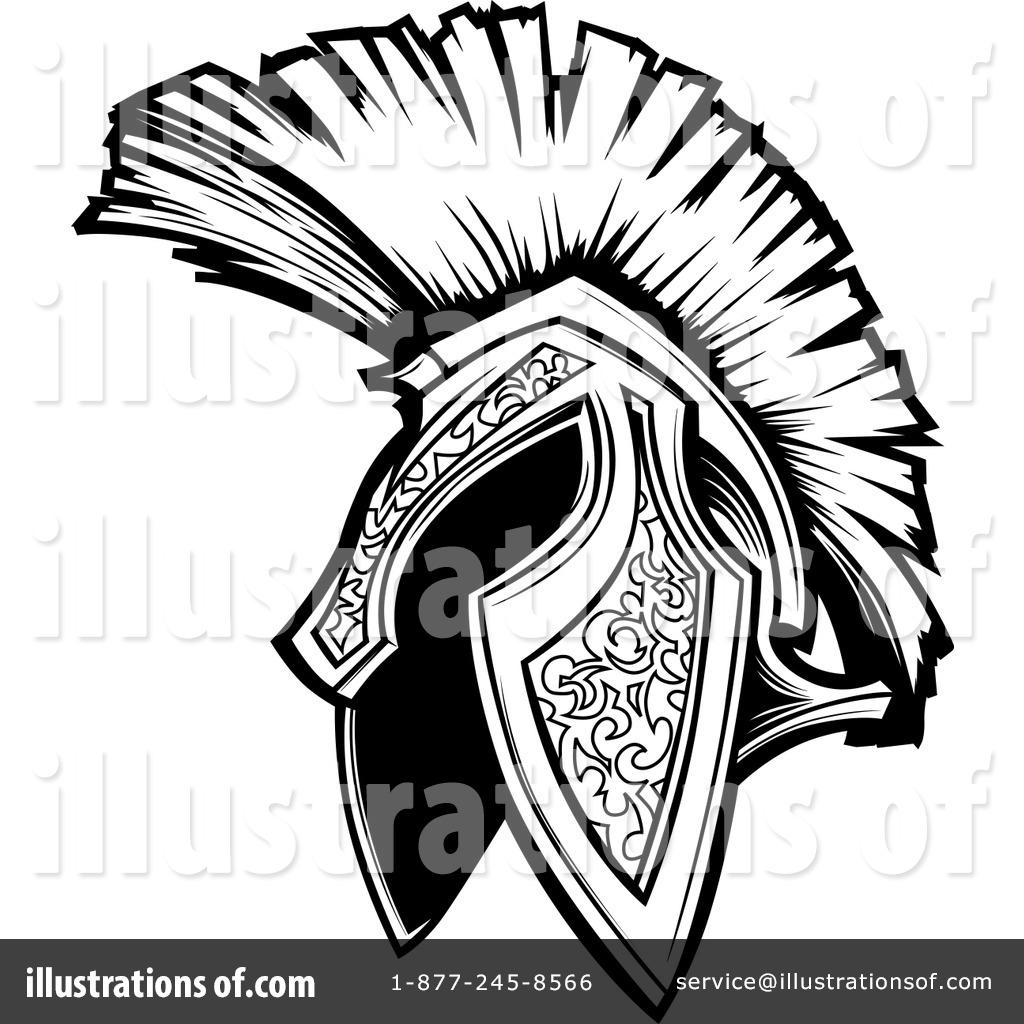 trojan clipart 1088014 illustration by chromaco rh illustrationsof com trojan football clipart trojan clipart free