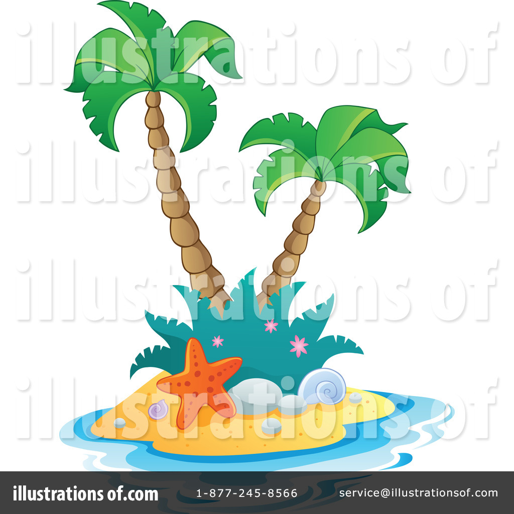 tropical island clipart 1096976 illustration by visekart rh illustrationsof com tropical island clipart free Tropical Leaf