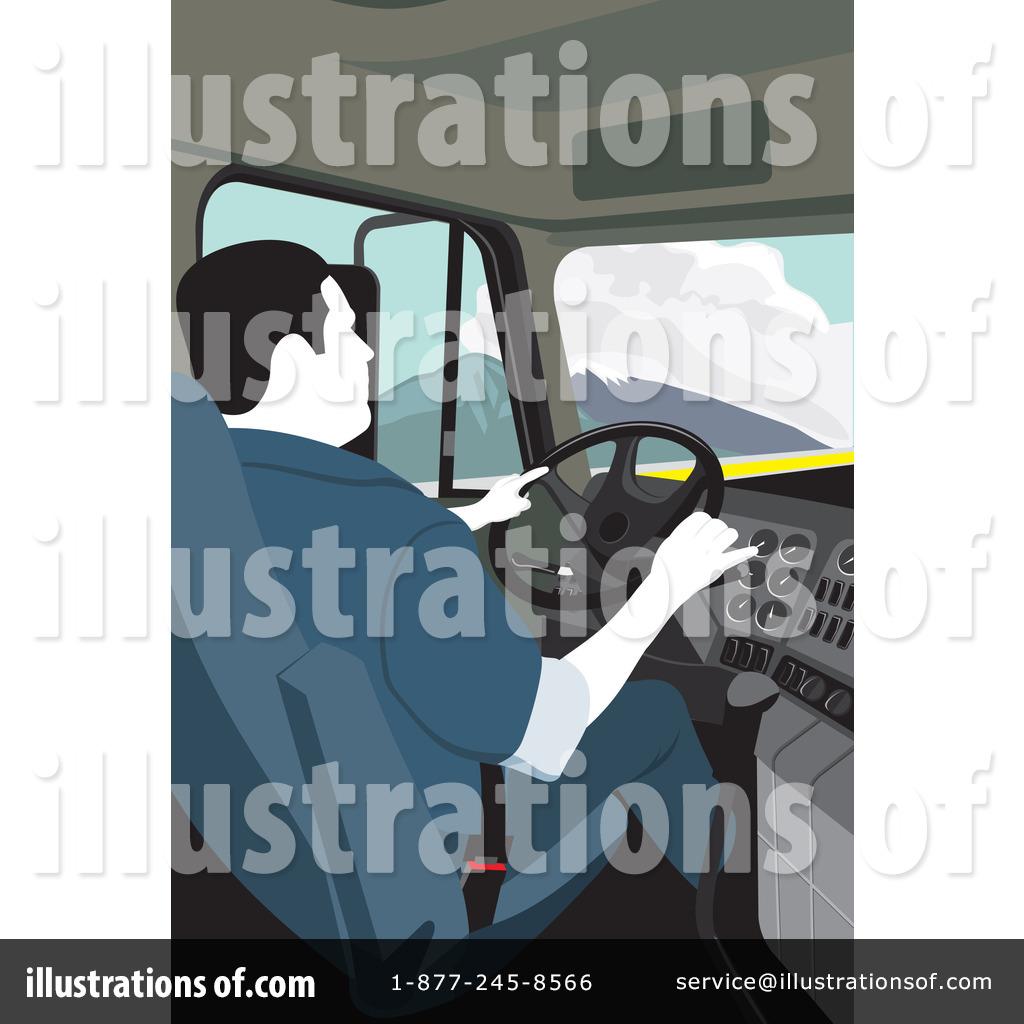truck driver clipart #1116344 - illustrationdavid rey