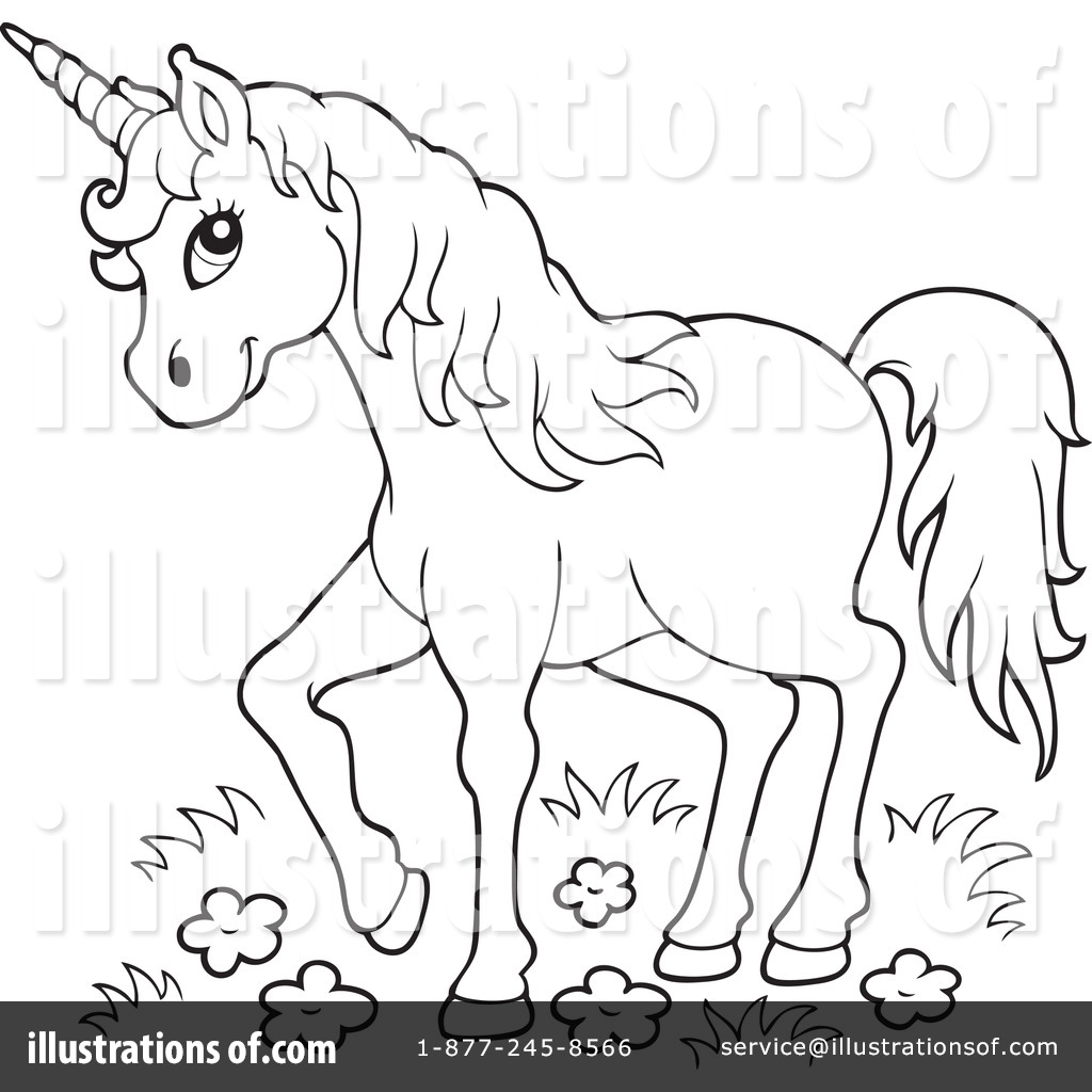 Royalty free rf unicorn clipart illustration 1117122 by visekart