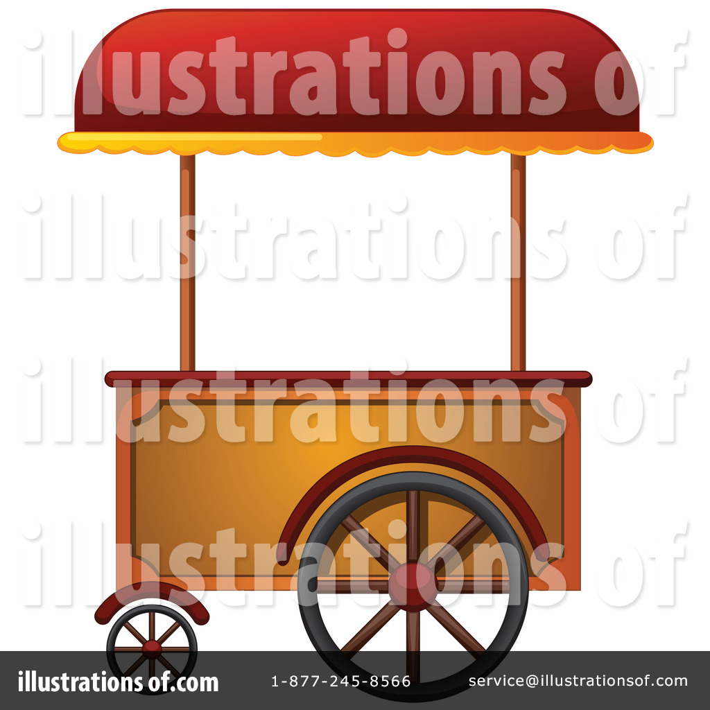 For restaurant pictures graphics illustrations clipart photos - Royalty Free Rf Vendor Cart Clipart Illustration By Graphics Rf Stock Sample