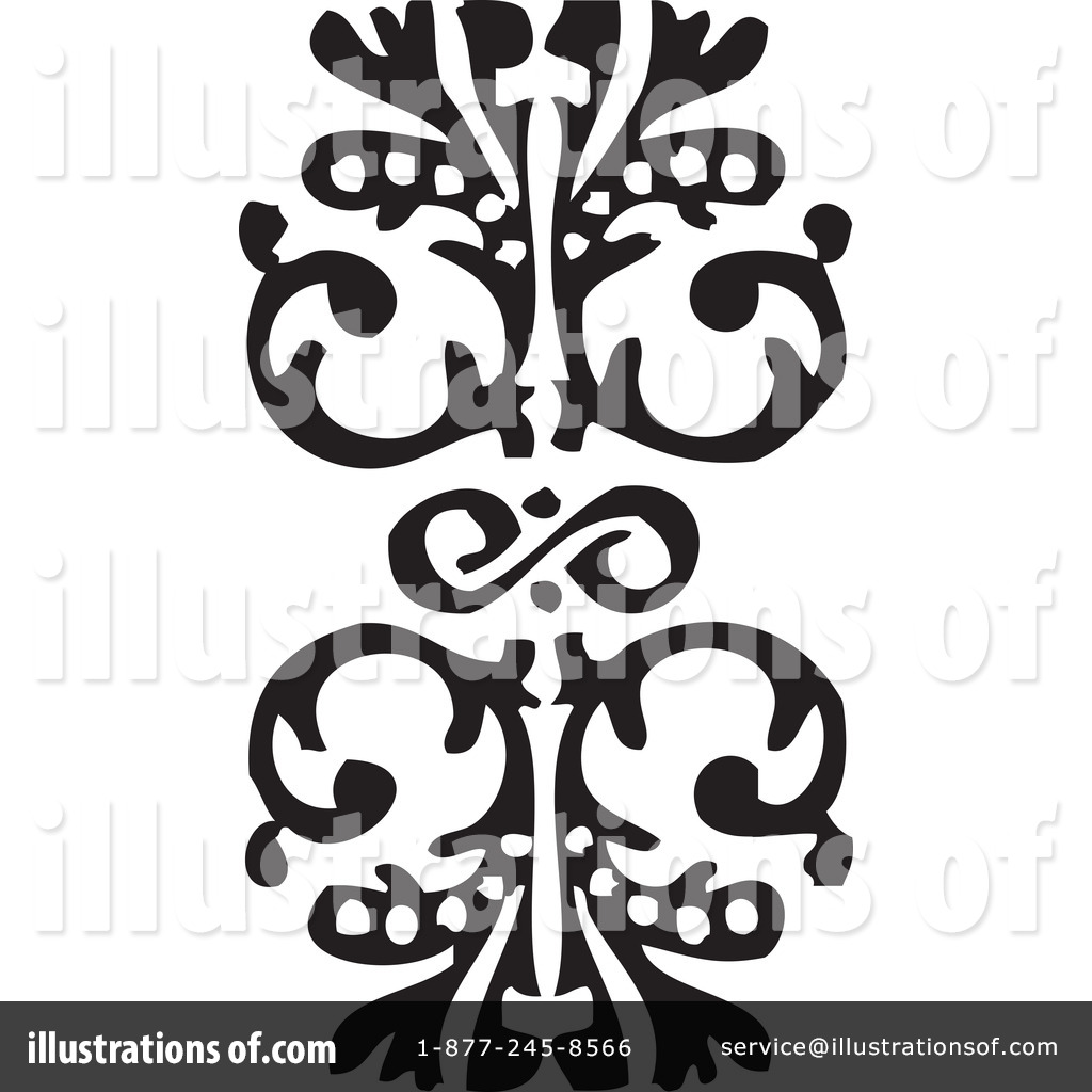 Victorian Design Elements victorian design elements clipart #1084186 - illustration