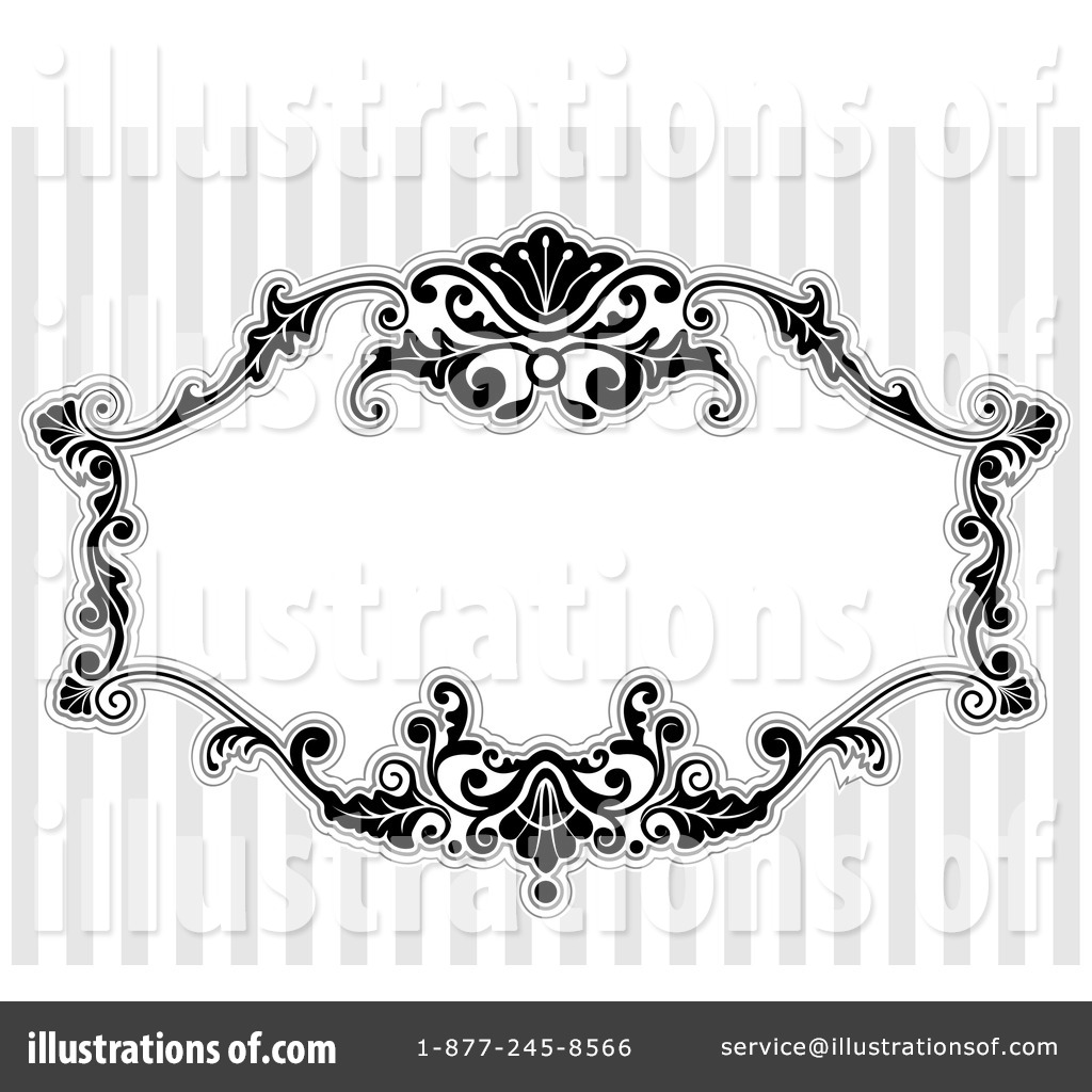 victorian frame design. Royalty-Free (RF) Victorian Frame Clipart Illustration #1050061 By BNP Design Studio