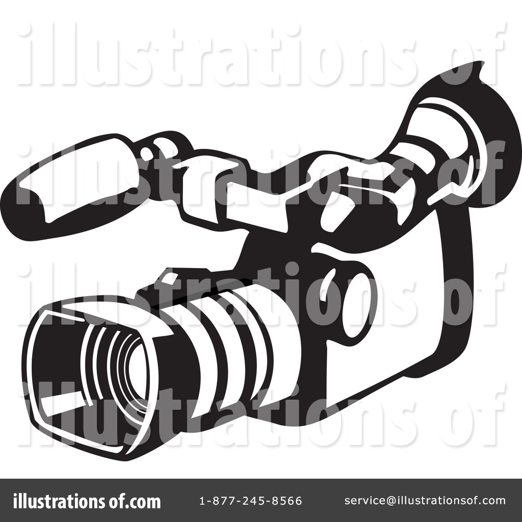 video camera clipart 1145682 illustration by patrimonio rh illustrationsof com free clipart video camera video camera clipart images