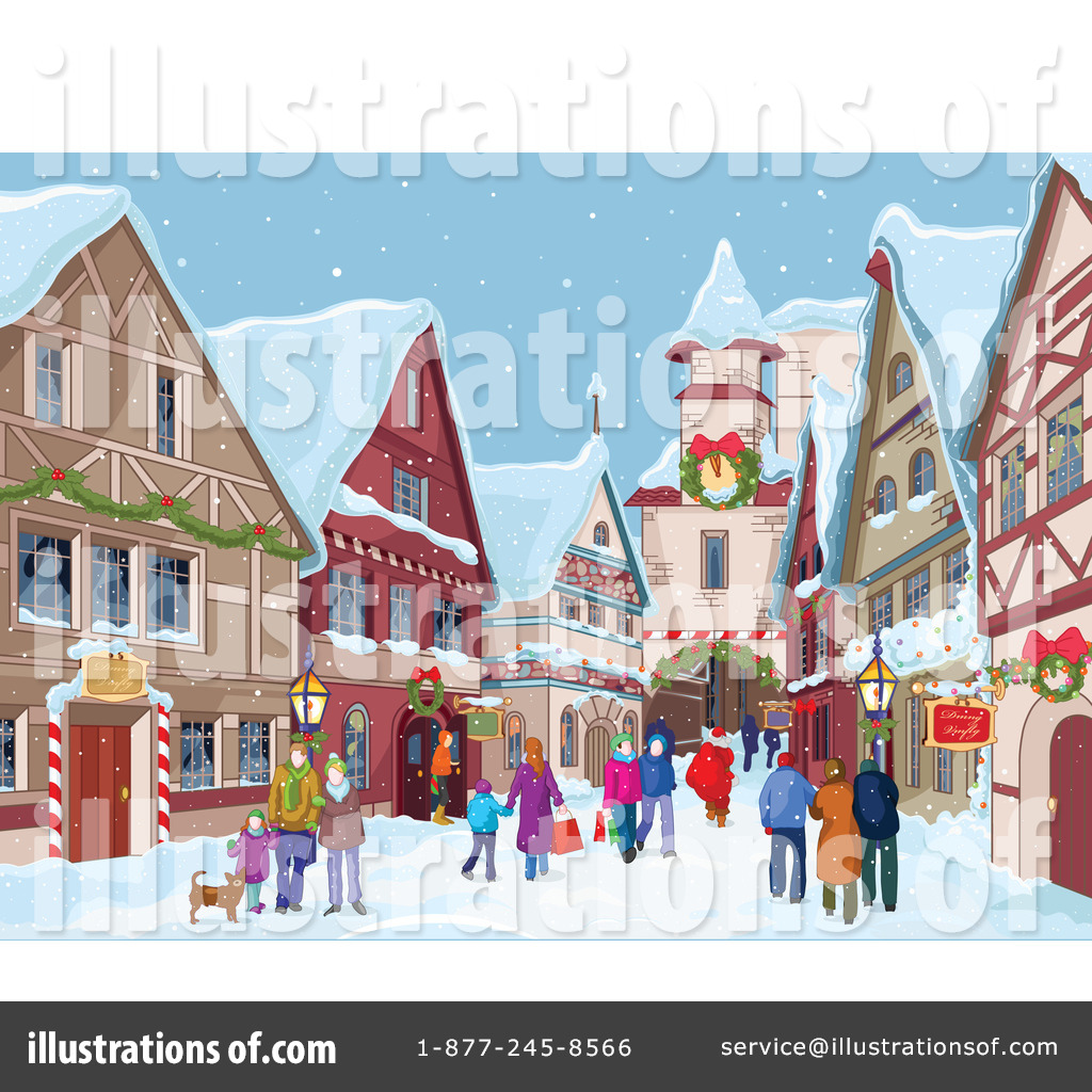 Village clipart illustration by pushkin